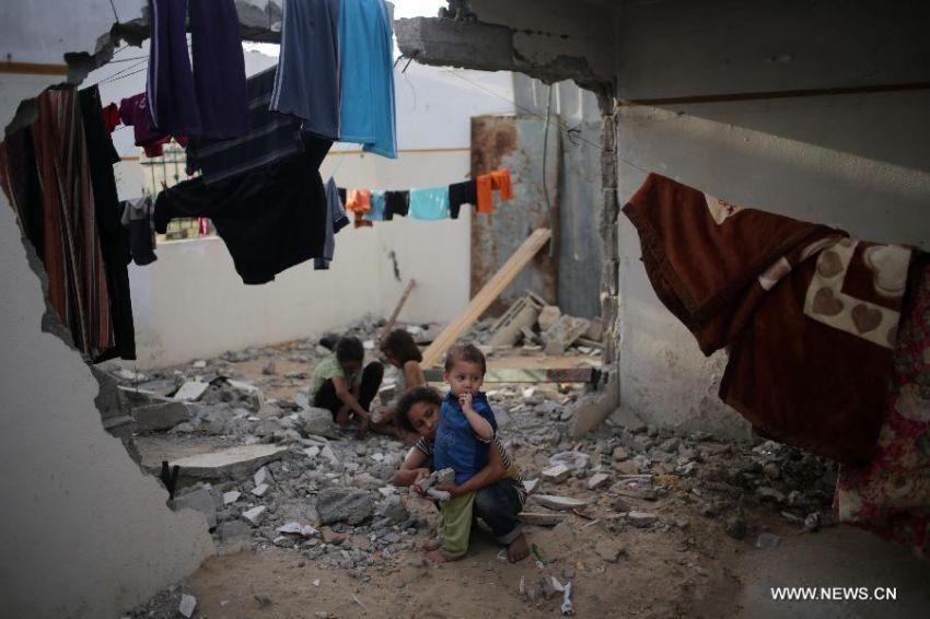 Anak-anak ini sudah menjadi pengungsi sejak dilahirkan