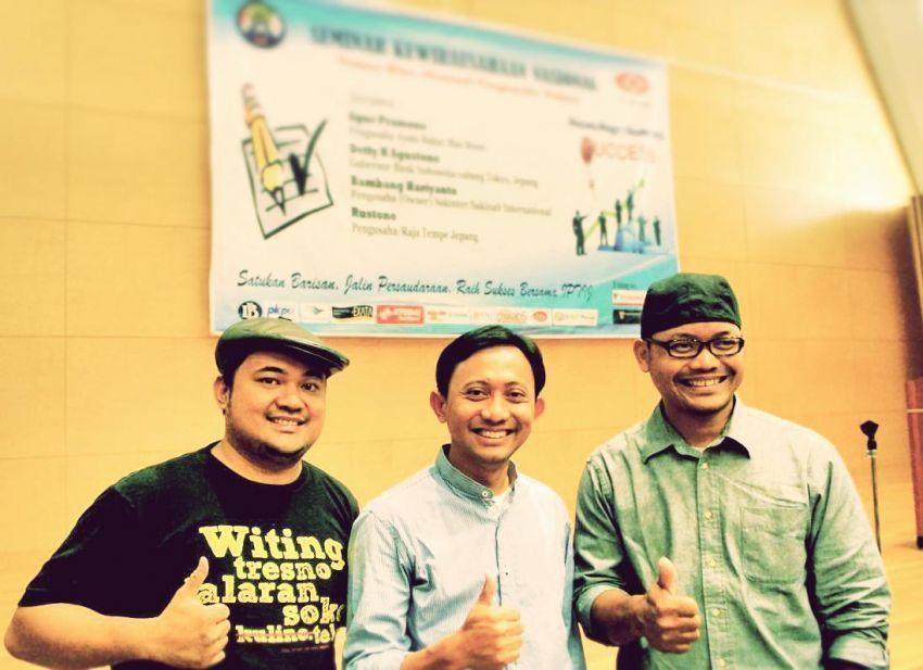 Rustono dan Firman, pengusaha muda Indonesia di bidang tempe dan ketela yang sekarang sangat passionate di bidangnya