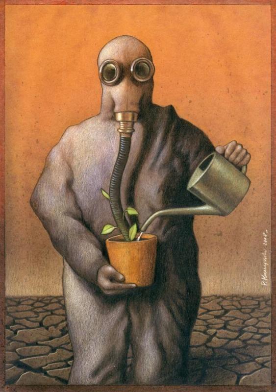 bumi udah tercemar