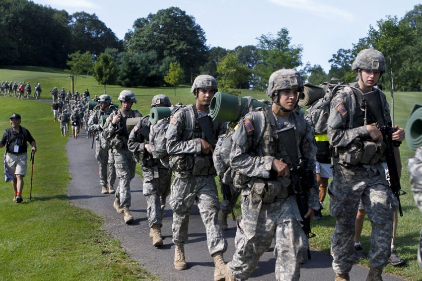 Cadet di Akademi Militer West Point, AS
