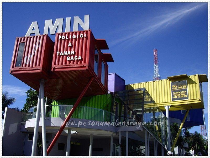 Perpustakaan Amin di Batu Malang
