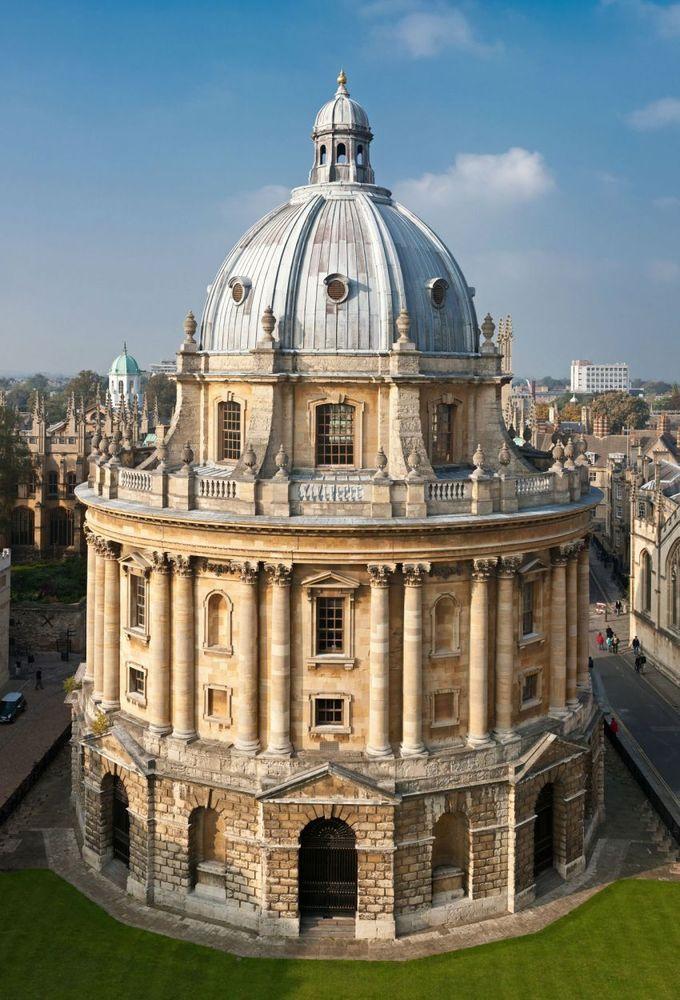 bagian luar perpustakaan Oxford