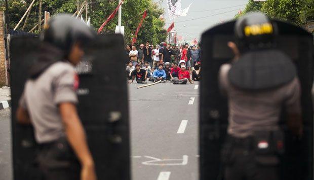 Bentrokan Antar Pendukung Capres di Yogyakarta Juni Lalu