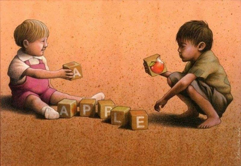 anak-anak kelaparan