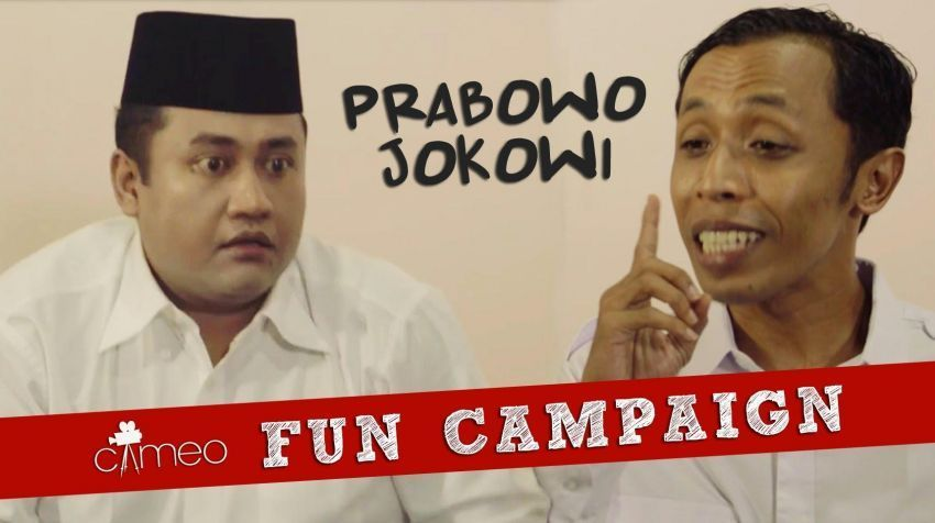Video parodi dari Cameo