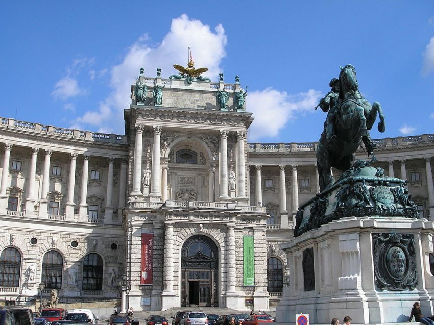 Halaman depan Austrian National Library