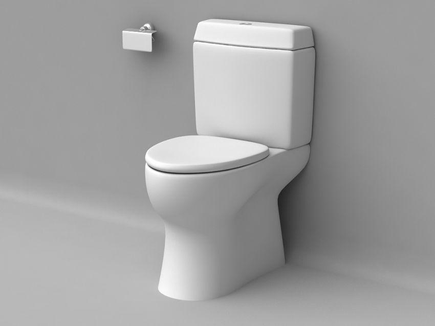 Toilet bersih tanpa kebocoran
