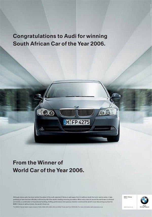 Ucapan 'selamat' dari BMW