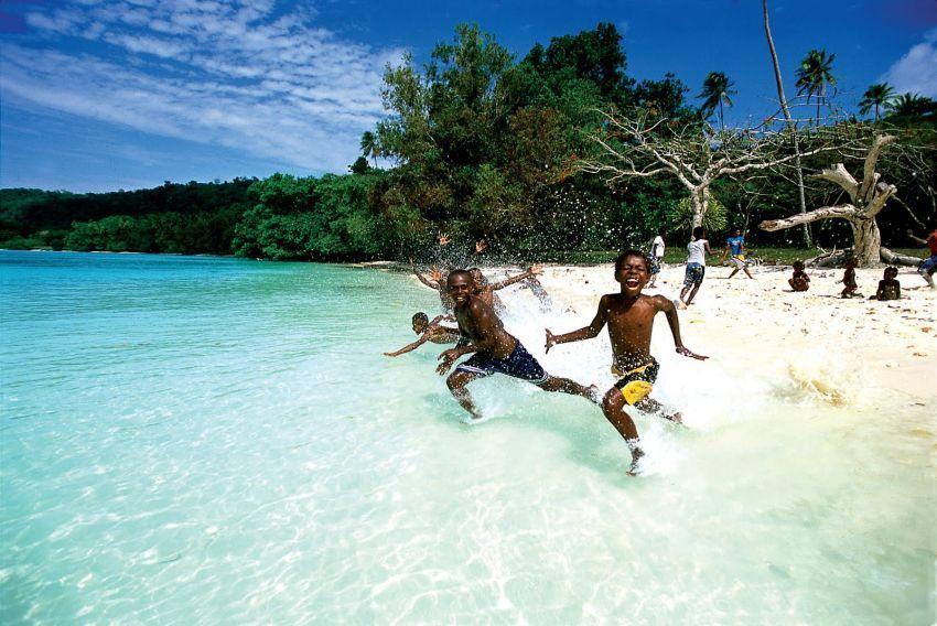 Pantai di Vanuatu