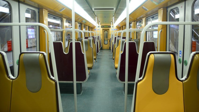 Brussels Metro Line 1, 2012