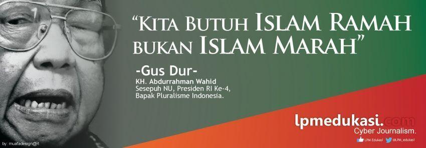 Gus Dur, bapak toleransi dan pluralisme