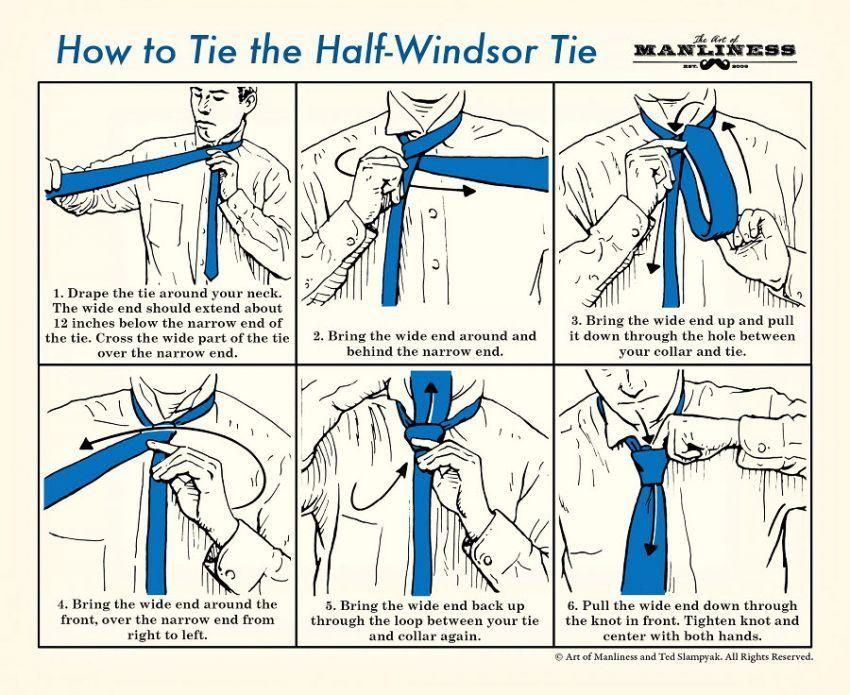 Teknik Half Windsor
