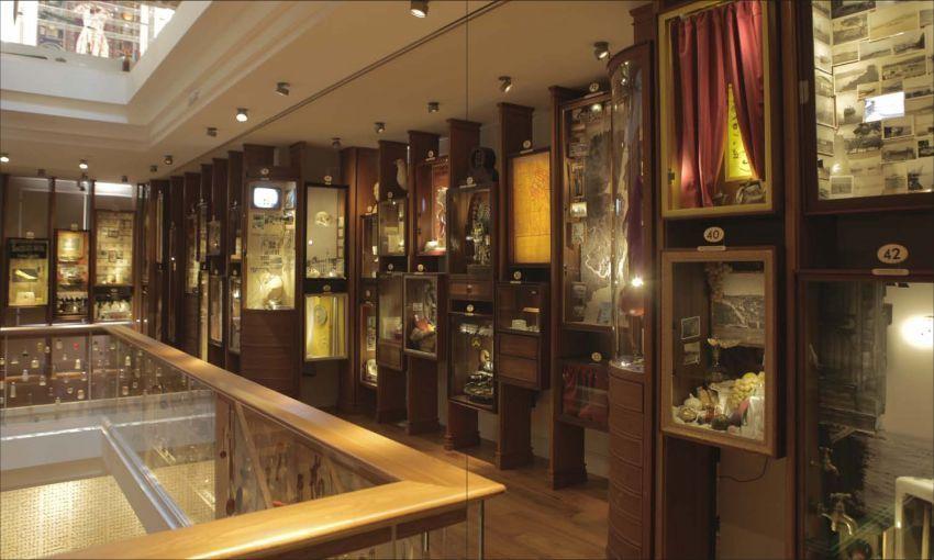 Bagian dalam The Museum of Innocence
