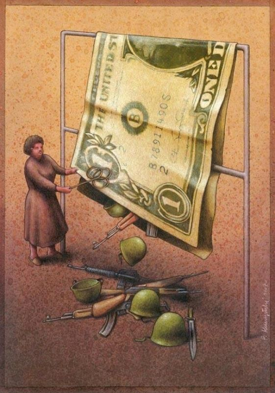 perang dan uang