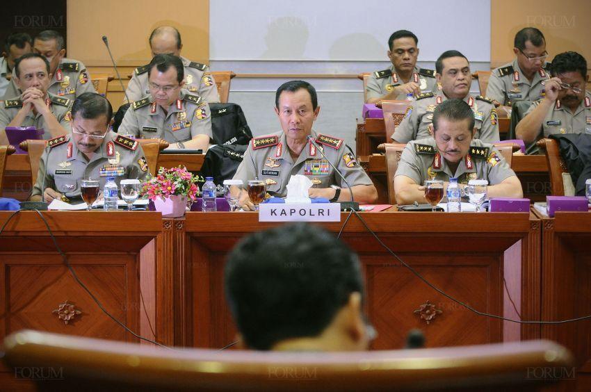 Revisi UU Md 3 sudah dibawa ke rapat dengar dengan Kapolri