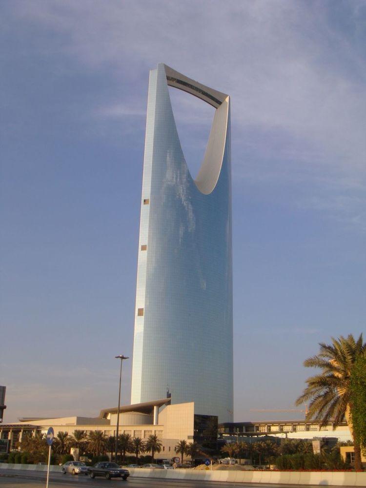 Kingdom Centre, landmark kota Riyadh