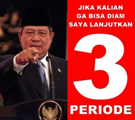 Mau 1 periode lagi SBY?