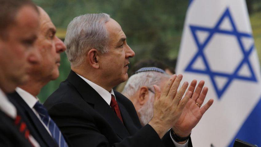 PM Israel, Benjamin Netanyahu di sebuah pertemuan internasional