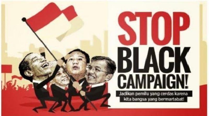 Kampanye hitam harus dihentikan mulai sekarang