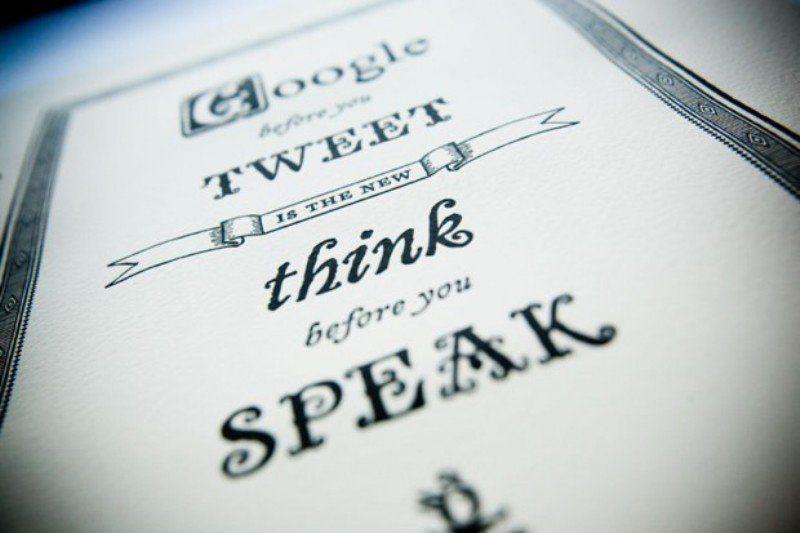 pikir baik-baik sebelum bicara