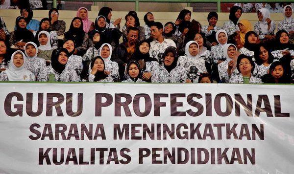 Kita pernah mengirim guru ke Malaysia