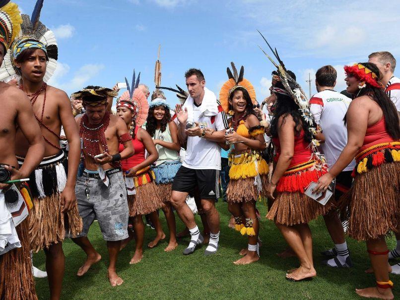 Klose menikmati waktunya di Brasil.