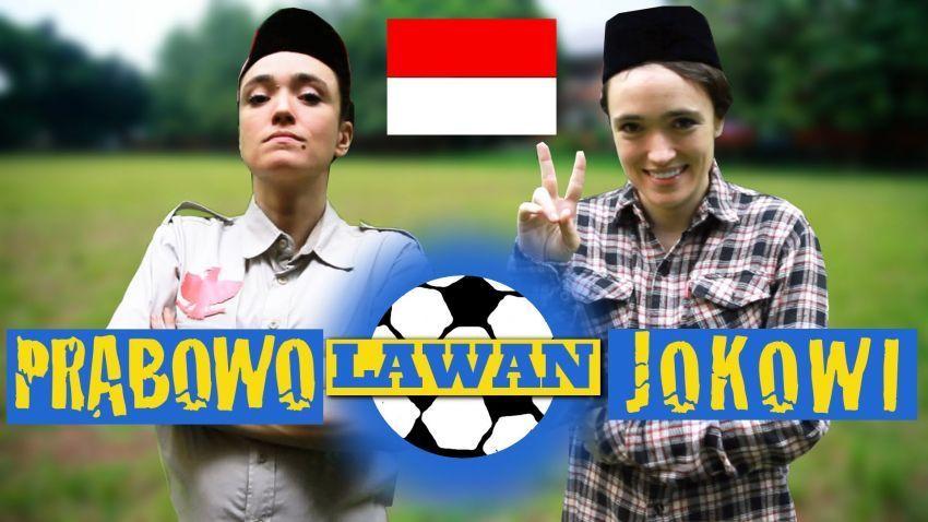 Video Prabowo VS Jokowi versi Sacha