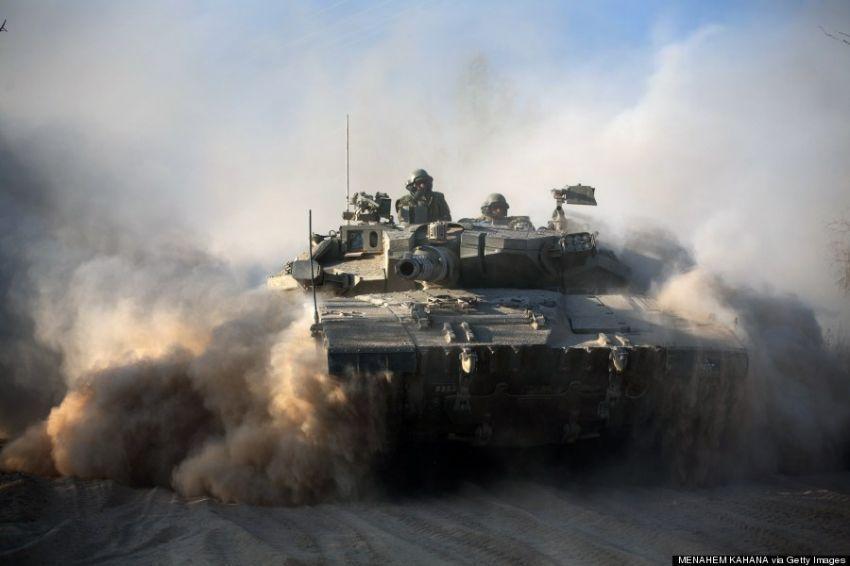 Israel kini mengintensifkan serangannya melalui angkatan darat