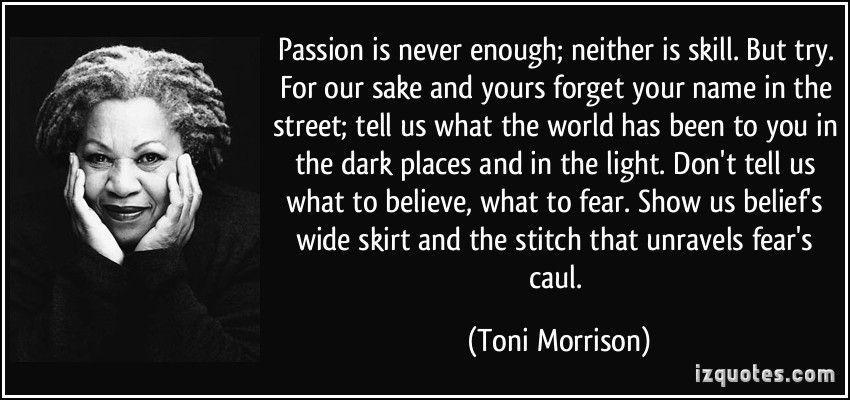 Passion saja tidak pernah cukup