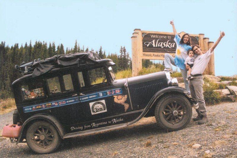 perjalanan pertama ke alaska