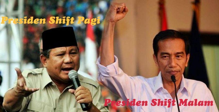 Shift pemerintahan dibagi 2