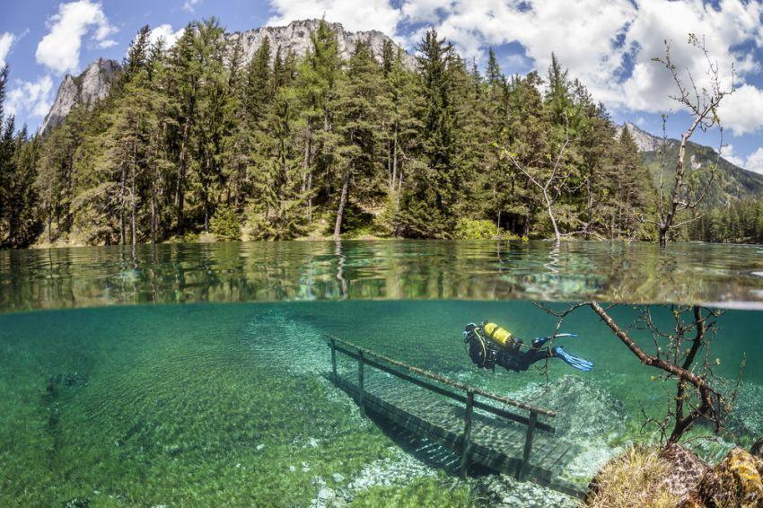 Grüner See, Austria | Foto: Marc Henauer/Solent News
