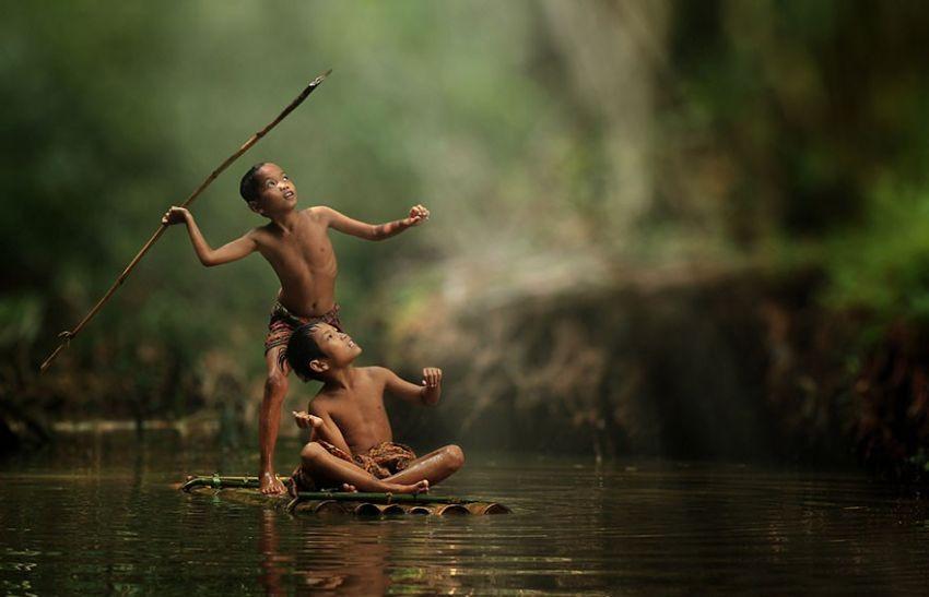 Berburu di sungai