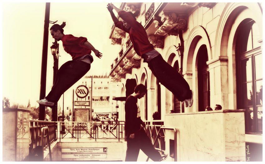 Precision Jump = kontrol diri.