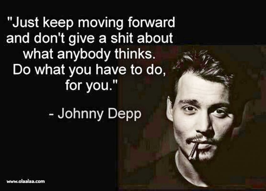 kamu sudah mengambil keputusan maka kamu harus siap melangkah