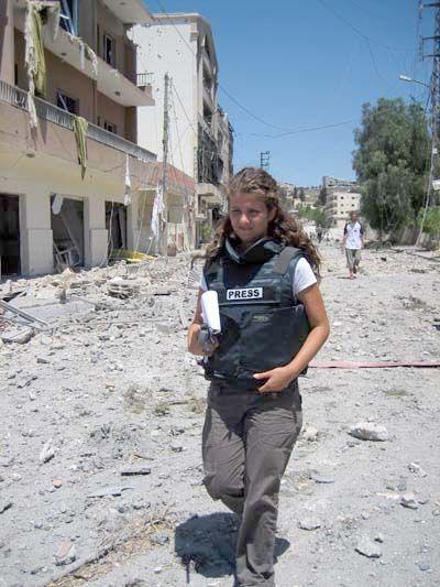 Rima Maktabi, jurnalis perang dari Libanon