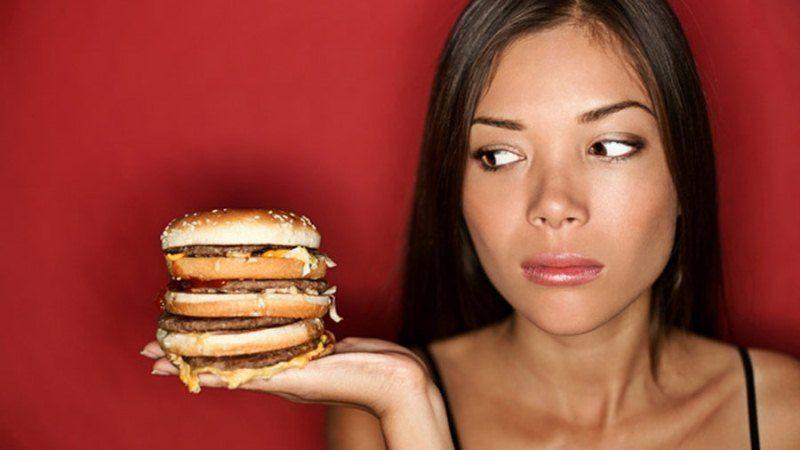 Jangan sering-sering makan junk food!