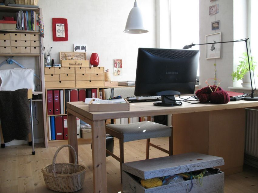 membuat ruang kerja yang nyaman
