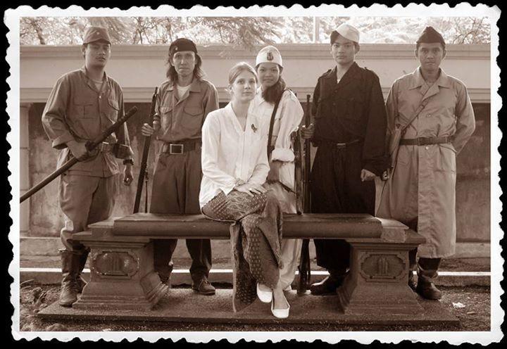 K'tut Tantri dan rekan-rekan seperjuangannya di Surabaya