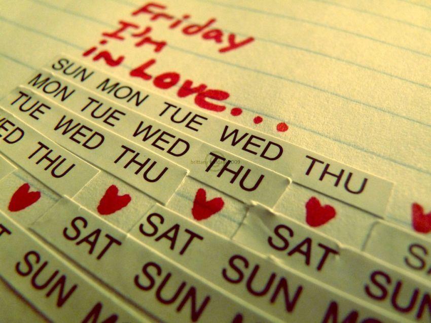 Jadi jatuh cinta pada hari Jumat