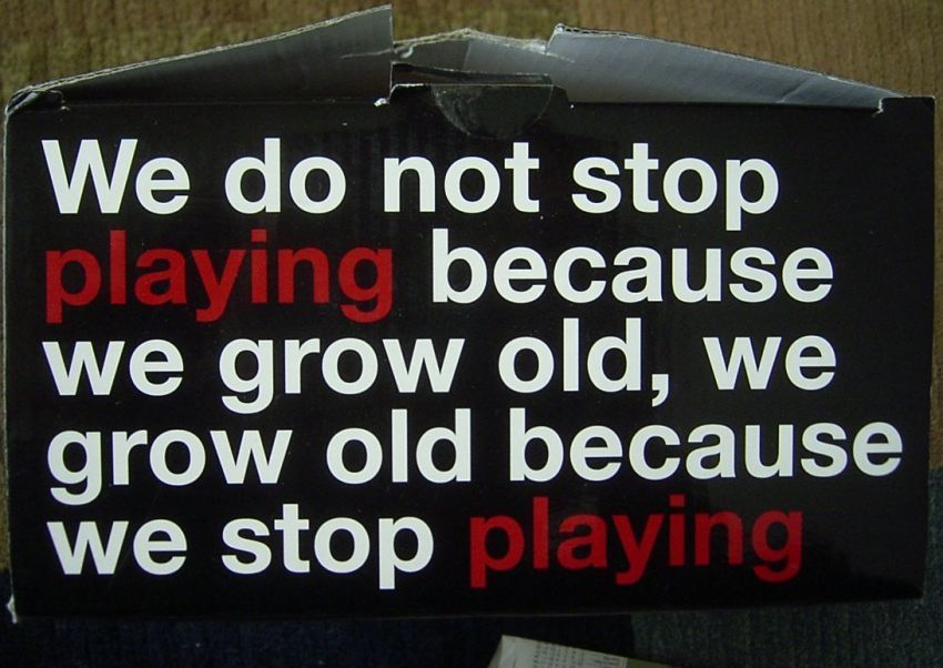 Bermainlah sebelum tua menghampirimu