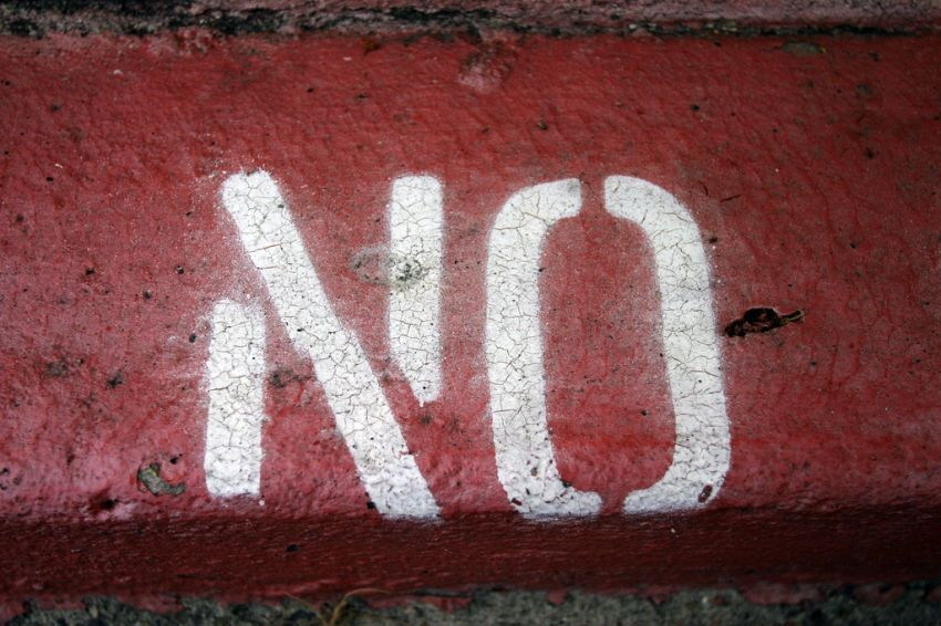 berani berkata tidak