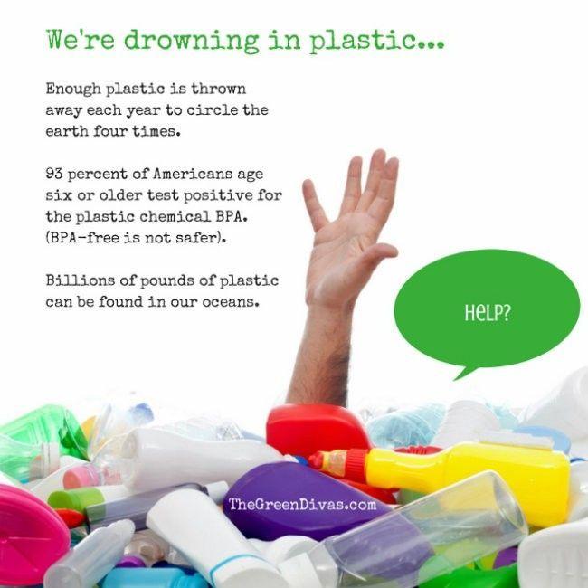 Tenggelam dalam plastik