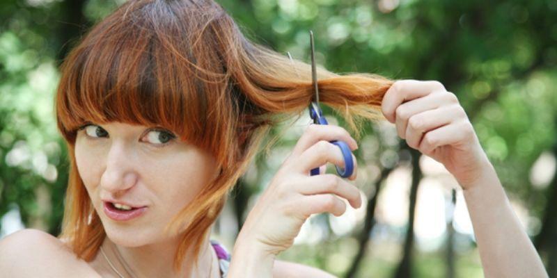 Potong rambut!