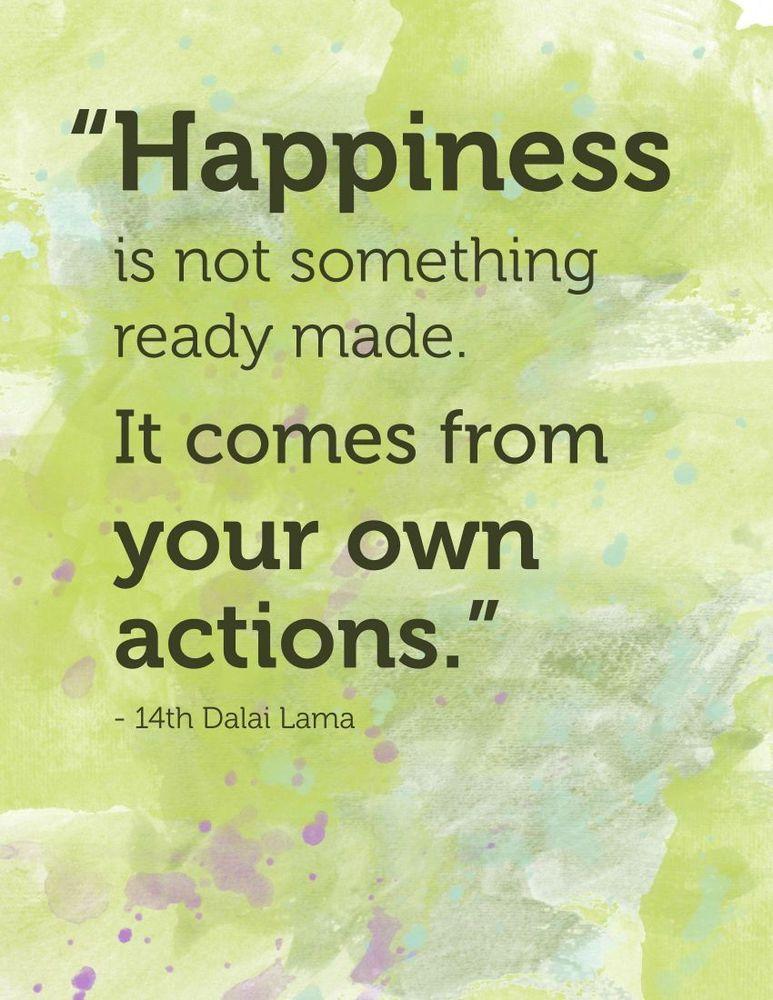 kebahagiaan ada ditanganmu