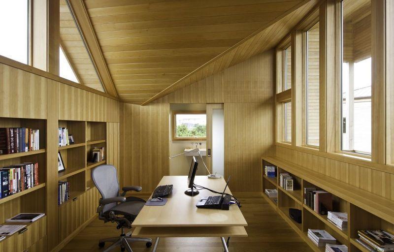ruang kerja yang nyaman dan tenang