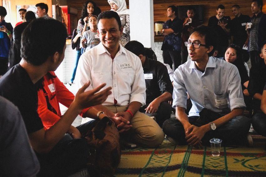 Anies Baswedan memberi banyak harapan pada anak muda Indonesia