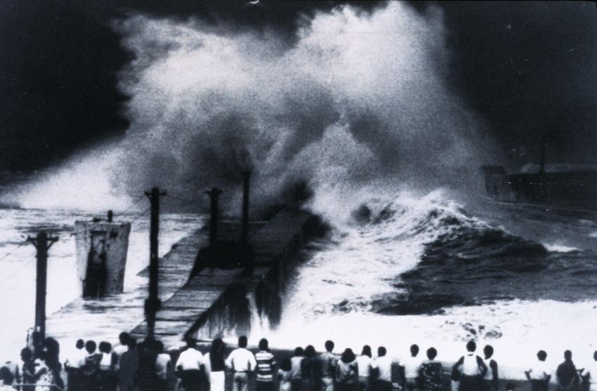 Badai topan di Jepang awal abad 20