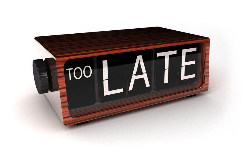 Datang terlambat