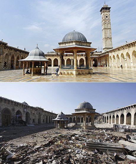 Masjid Umayyad Aleppo (2012, 2013)